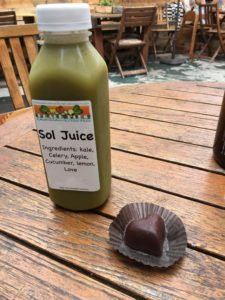 Sol Juice & Raw Truffle - Peace Pies in Leucadia