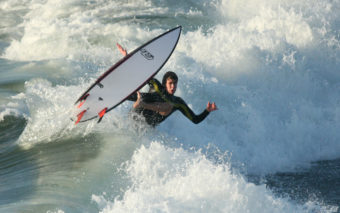 Surfing in Encinitas - Thanks to Might Photography